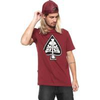 52d067618a5c9 Camiseta Mcd Vinho masculina