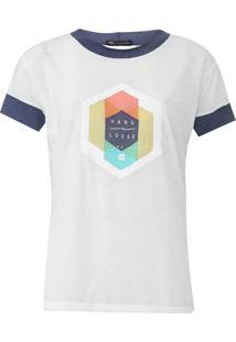 Camiseta Hang Loose Trend Sharing Off-White