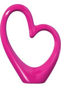 Coração Rosa Pink
