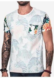 Camiseta Avesso Manga Floral 102151