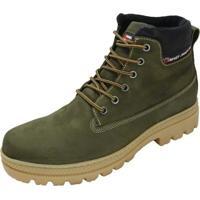 Coturno Militar Verde masculino   Shoes4you ef60d89758