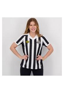 Camisa Umbro Santos Ii 2021 Feminina