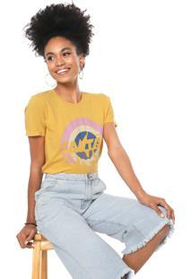 Camiseta Cantão Invertido Amarela