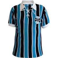 6107bf8e36 Netshoes. Camisa Retrô Grêmio Cordinha 1929 Masculina - Masculino