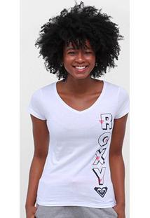 Camiseta Roxy Gola V Feminina - Feminino