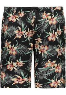 Bermuda Fatal Walk Printed Floral Masculina - Masculino