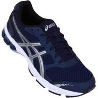 e002c350837 Tênis Asics Gel Connection Masculino - Masculino-Marinho+Prata