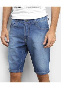 Bermuda Jeans Colcci Noah Estonada Masculina - Masculino