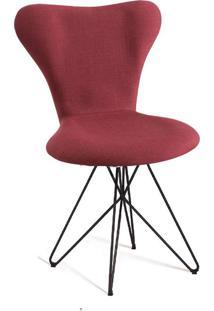 Cadeira Butterfly Linho Marsala