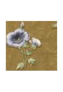Papel De Parede Italiano Corte Antica 8224 Vinílico Com Estampa Contendo Arabesco, Folhagem, Floral