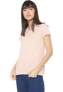 Camiseta Malwee Botonê Rosa