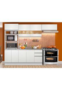Cozinha Compacta Glamy 8 Pt 3 Gv Branca