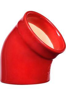 Porta Sal Cerâmica Hr Vermelho Emile Henry