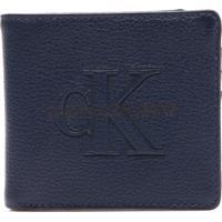 Carteira Azul Calvin Klein masculina   Shoes4you 06d38e9139