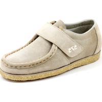 e18de33d9 Dafiti. Sapato Cacareco Confortável 575 Camurça Bege