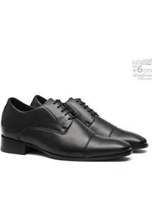 Sapato Social Couro Samello Elevator Omega Masculino - Masculino