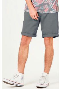 Bermuda Masculina Slim Com Cinto