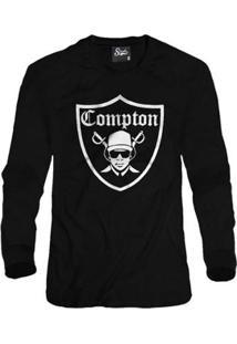 Casaco Moletom Skull Clothing Compton Masculino - Masculino
