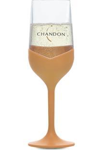 Taça Chandon De Acrilico Dourada 250 Ml