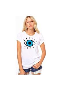 Camiseta Coolest Olho Grego Branco