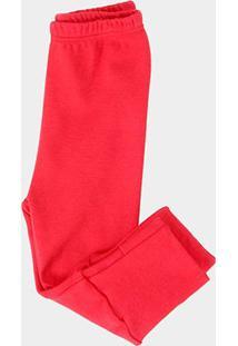 Calça Pingo Lelê Básica Bebê - Masculino-Vermelho