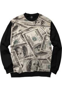 Blusa Bsc Make Money Full Print - Masculino