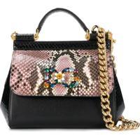 b19e0e137 Dolce & Gabbana Bolsa Tiracolo Sicily - Preto
