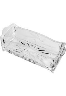 Porta Talher Prima- Cristal- 7,5X24,5X9Cm- Lyorlyor