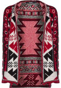 Kimono De Tricot Em Jacquard
