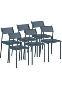 Cadeira Carraro 1709 Azul