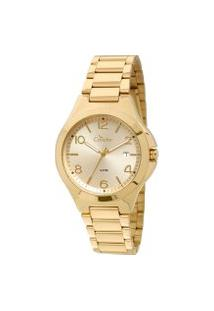 Relógio Analógico Condor Feminino - Co2115Sw4X Dourado