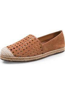 Sapato Corello Espadrille Caramelo