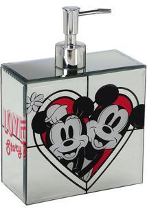 Dispenser Love Story Disneyâ® - Espelhado & Vermelho Mabruk