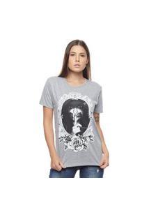 Camiseta Bossa Brasil Silence Mirror Mescla