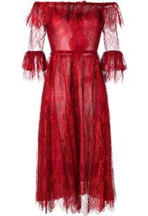 Maria Lucia Hohan Vestido 'Melissa' - Vermelho