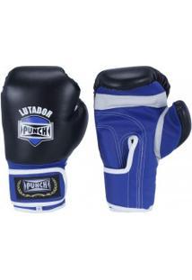 Luvas De Boxe Punch Amador - 8 Oz - Adulto - Preto