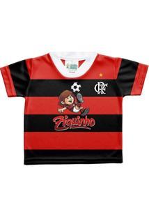 Camisa Flamengo Ziquinho Torcida Baby 1-2 Anos - Masculino