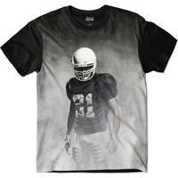 Camiseta Attack Life Futebol Americano Presença Sublimada Masculina -  Masculino-Preto 88430803c02d2