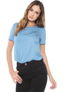 Camiseta Lança Perfume Bolso Azul