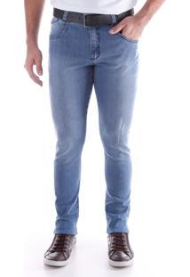 Calça 2227 Jeans Skinny Traymon Azul Indigo