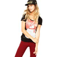 49d7dd2c6 Blusa Coca Cola Vermelha feminina | Shoes4you