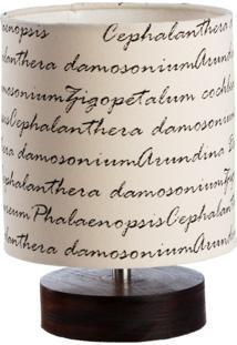 Luminária Bueno Letras