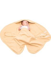 Cobertor De Vestir Bege Kababy