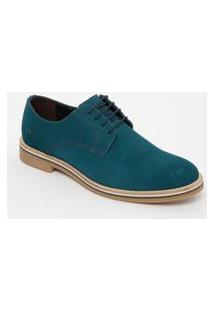 Sapato Derby Reserva Dudu® Em Couro . - Azul Escuro. - Reserva 40118Dudu
