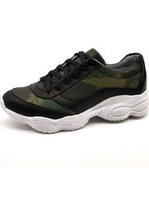 Tênis Sneaker Bmbrasil 251-04 Camuflado