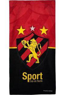 Toalha De Banho Bouton Veludo Sport Recife