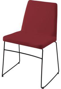 Cadeira Avec Marsala Base Preta - 55905 - Sun House