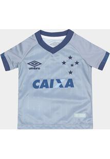 Camisa Cruzeiro Infantil Iii 18/19 S/N° - Torcedor Umbro - Masculino