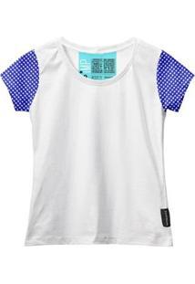 Camiseta Baby Look Feminina Algodão Estampa Xadrez Casual - Feminino