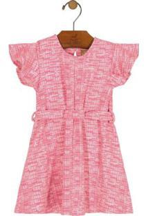 Vestido De Laço Rosa